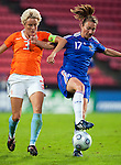 Gaetane Thiney (FRA), Daphne Koster,  QF, Holland-France, Women's EURO 2009 in Finland, 09032009, Tampere, Ratina Stadium.