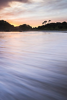 Sunrise at Maitai Bay (aka Matai Bay), a popular beach on the Karikari Peninsula, Northland, New Zealand