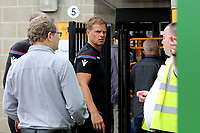 Crystal Palace Manager, Frank De Boer arrives at the ground and walks towards the turnstiles. A Maidstone steward suggests that he should to the main entrance during Maidstone United  vs Crystal Palace, Friendly Match Football at the Gallagher Stadium on 15th July 2017
