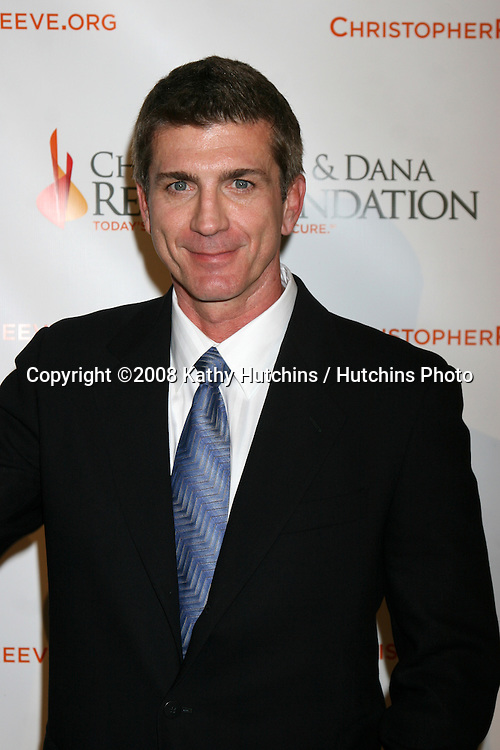 Joe Lando  arriving at the 4th Annual Los Angeles Gala for the Christopher & Dana Reeve Foundation, at the Beverly Hilton Hotel, in Beverly Hills, CA.December 2, 2008.©2008 Kathy Hutchins / Hutchins Photo....