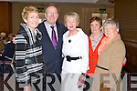CONFERENCE: Enjoying the St Vincent de Paul conference at the Carlton hotel, Tralee on Sunday l-r: Sheila Greaney, John O'Sullivan, Rosemary Pender, Maisie McCarthy and Margaret Sheehan, Castleisland.