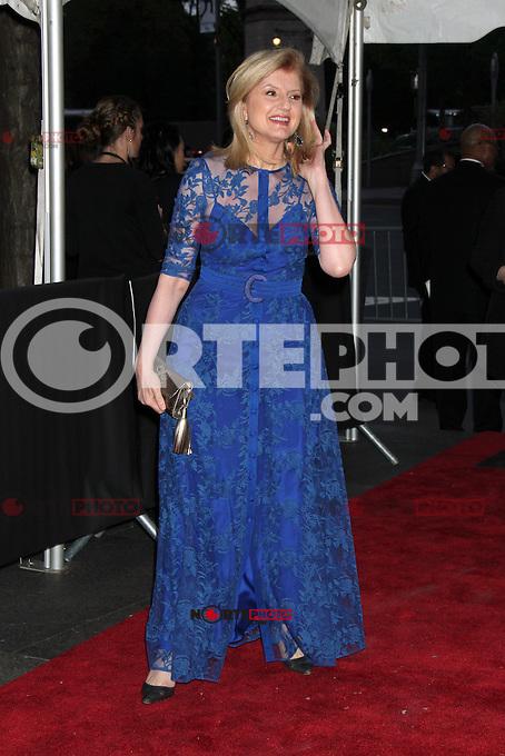 Arianna Huffington en la noche de gala de TIME las 100 Personas M&aacute;s Influyentes del Mundo en el Jazz at Lincoln Center el 24 de abril de 2012 en Nueva York.<br /> (*Cr&eacute;dito:RW*/*MediaPunch/NottePhoto.com*)<br /> **SOLO*VENTA*EN*MEXICO**