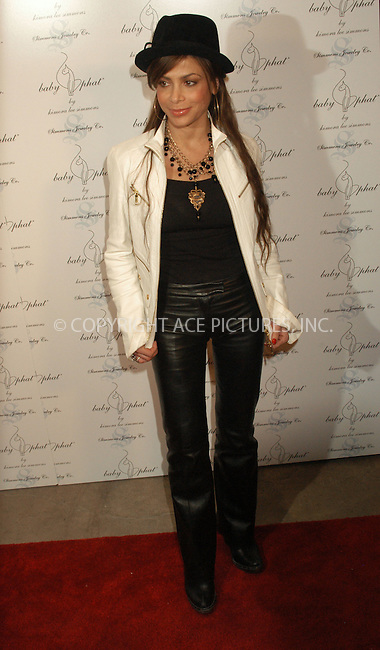 WWW.ACEPIXS.COM . . . . . ....NEW YORK, FEBRUARY 5, 2005....Paula Abdul at the Baby Phat Fall 2005 fashion show.....Please byline: KRISTIN CALLAHAN - ACE PICTURES.. . . . . . ..Ace Pictures, Inc:  ..Philip Vaughan (646) 769-0430..e-mail: info@acepixs.com..web: http://www.acepixs.com