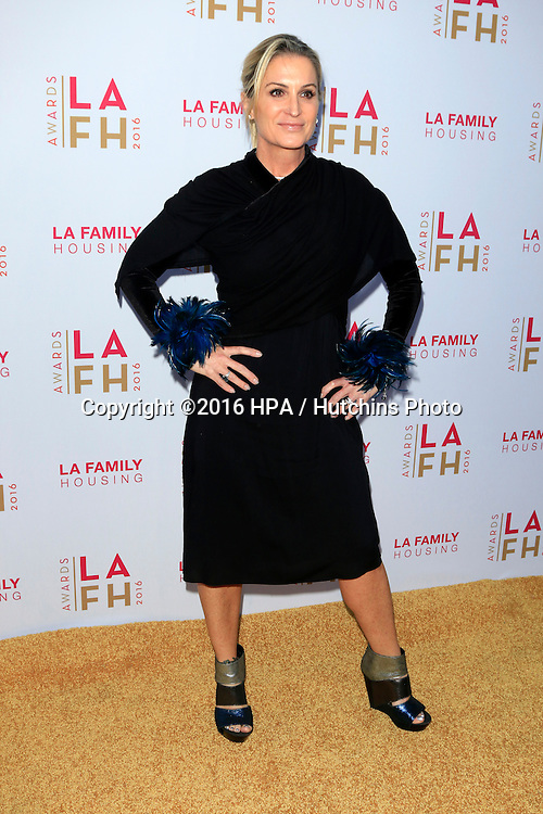 LOS ANGELES - APR 21:  Leigh Koechner at the LA Family Housing Awards at the The Lot on April 21, 2016 in Los Angeles, CA