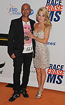 CENTURY CITY, CA - MAY 18: Igal Dahan and Jaimie Hilfiger arrive at the 19th Annual Race To Erase MS Event at the Hyatt Regency Century Plaza on May 18, 2012 in Century City, California.