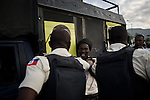 © Remi OCHLIK/IP3 - Port au Prince on 2010 november 25 - PORT-AU-PRINCE - Haiti needs a surge of foreign nurses and doctors to stem deaths from a raging cholera epidemic that an international aid operation is struggling to control, the United Nations' top humanitarian official said.About 1,000 trained nurses and at least 100 more doctors were urgently needed to control the epidemic, which has struck the impoverished Caribbean nation months after a destructive earthquake.The outbreak has killed more than 1,400 Haitians in five weeks and the death toll is climbing by dozens each day. On the sidelines of the last campaign meeting, Haitian policemen arrest two men involved in a fight with a knife