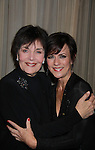 Linda Dano comes to see As The World Turns Colleen Zenk as she stars in her one-woman cabaret show Colleen Zenk - Still Sassy on October 30, 2011 at Feinsteins, New York City, New York. They sang together and shared stories.  (Photo by Sue Coflin/Max Photos)