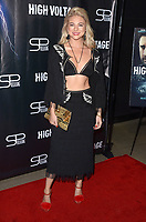 "LOS ANGELES - OCT 16:  Allie Gonino at the ""High Voltage"" Los Angeles Red Carpet Premiere at the TCL Chinese 6 Theater on October 16, 2018 in Los Angeles, CA"