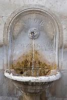 An ancient fountain at the Capitol Hill.<br /> Una antica fontana al Campidoglio del vecchio acquedotto dell'acqua marcia