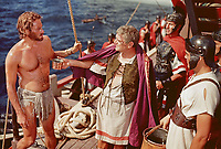 Ben-Hur (1959) <br /> Jack Hawkins &amp; Charlton Heston<br /> *Filmstill - Editorial Use Only*<br /> CAP/KFS<br /> Image supplied by Capital Pictures
