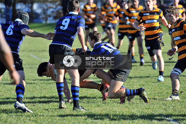 Press Cup, Christchurch BHS vs Marlborough BC, Christchurch, New Zealand, Saturday 28 June 2014, Photo: Barry Whitnall/shuttersport.co.nz