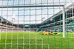 02.11.2019, wohninvest WESERSTADION, Bremen, GER, 1.FBL, Werder Bremen vs SC Freiburg<br /> <br /> DFL REGULATIONS PROHIBIT ANY USE OF PHOTOGRAPHS AS IMAGE SEQUENCES AND/OR QUASI-VIDEO.<br /> <br /> im Bild / picture shows<br /> Mark Flekken (SC Freiburg #26) streckt sich nach einem Ball,  <br /> <br /> Foto © nordphoto / Ewert