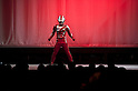 "July 27 2012, Tokyo, Japan - A character of the TV series ""Ultraman"" appears on stage in a sample scene. To celebrate the 45th anniversary of the hero, fans can enjoy the Festival from 27 July to 2 September at Sunshine City complex in Ikebukuro, Tokyo. (Photo by Rodrigo Reyes Marin/AFLO)"