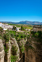 Spanien, Andalusien, Provinz Málaga, Ronda: auf einem Hochplataeau gelegen | Spain, Andalusia, Province Málaga, Ronda: built on an elevated plain