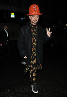 Boy George ( George O'Dowd ) at the LFW s/s 2018 Vin + Omi catwalk show &amp; afterparty, Andaz Liverpool Street Hotel, Liverpool Street, London, England, UK, on Monday 11 September 2017.<br /> CAP/CAN<br /> &copy;CAN/Capital Pictures
