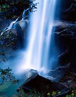 Waterfall Yosemite California