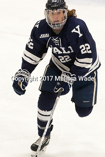 JM Piotrowski, J.M. Piotrowski, John Michael Piotrowski,Yale University, Bulldogs, - The Harvard University Crimson tied the visiting Yale University Bulldogs 1-1 on Saturday, January 21, 2017, at the Bright-Landry Hockey Center in Boston, Massachusetts.