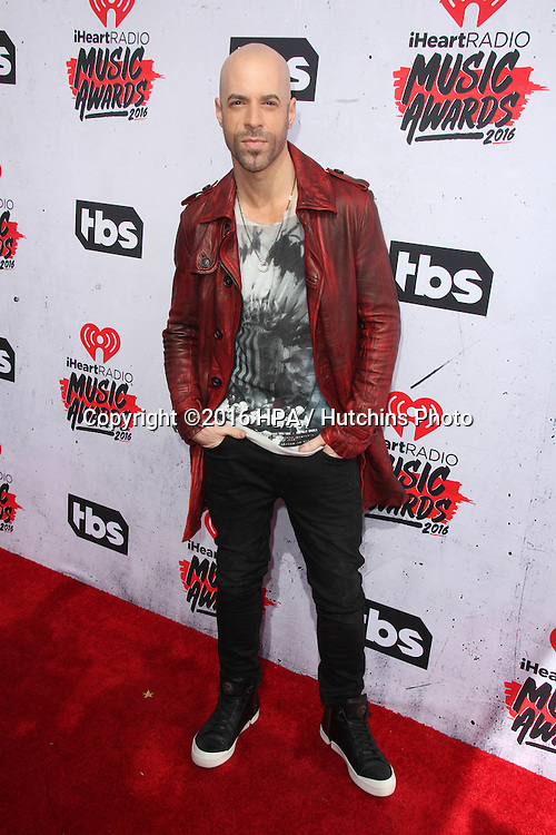LOS ANGELES - APR 3:  Chris Daughtry at the iHeart Radio Music Awards 2016 Arrivals at the The Forum on April 3, 2016 in Inglewood, CA