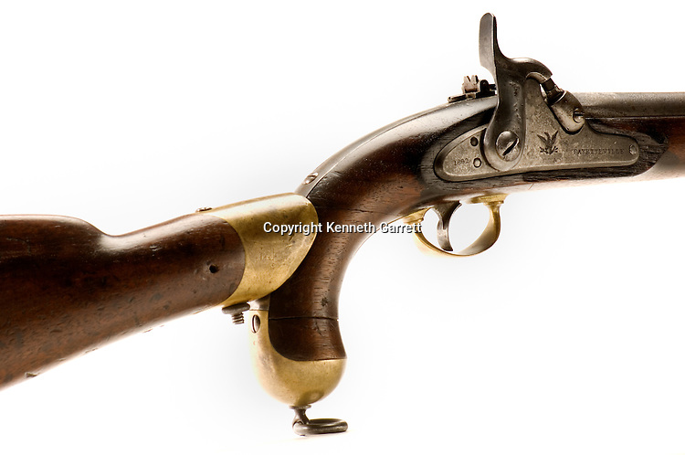 Don Tharpe Collection, confederate pistol made in North Carollina
