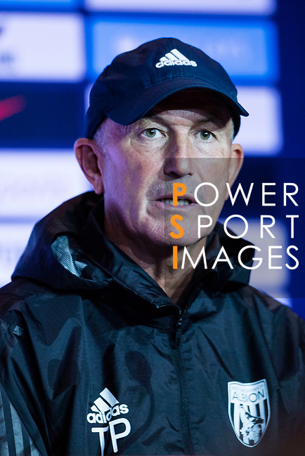 Tony Pulis West Bromwich Albion Head Coach during a Premier League Asia Trophy Press Conference at Grand Hyatt Hotel on July 21, 2017 in Hong Kong, China. Photo by Marcio Rodrigo Machado / Power Sport Images