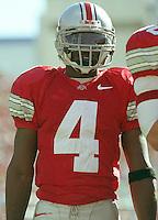 Ohio State wide receiver Santonio Holmes, October 30, 2004