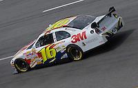 May 4, 2007; Richmond, VA, USA; Nascar Nextel Cup Series driver Greg Biffle (16) during practice for the Jim Stewart 400 at Richmond International Raceway. Mandatory Credit: Mark J. Rebilas