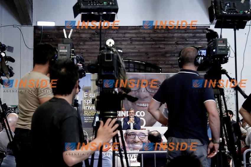 Roberto Giachetti<br /> Roma 06-06-2016 Conferenza stampa di Roberto Giachetti dopo gli esiti del voto per le elezioni amministrative.<br /> Rome 6th June 2016. Press conference of Roberto Giachetti, candidate Mayor of Rome for Democratic Party.<br /> Photo Samantha Zucchi Insidefoto