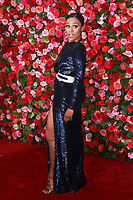 NEW YORK, NY - JUNE 10: Ariana DeBose  at the 72nd Annual Tony Awards at Radio City Music Hall in New York City on June 10, 2018.