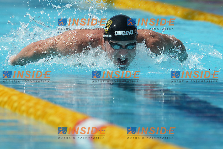 Evgeny Korotyshkin Russia Men's 100m Butterfly.Roma 14/6/2012 Foro Italico.Nuoto Swimming 49mo trofeo settecolli.Foto Andrea Staccioli Insidefoto