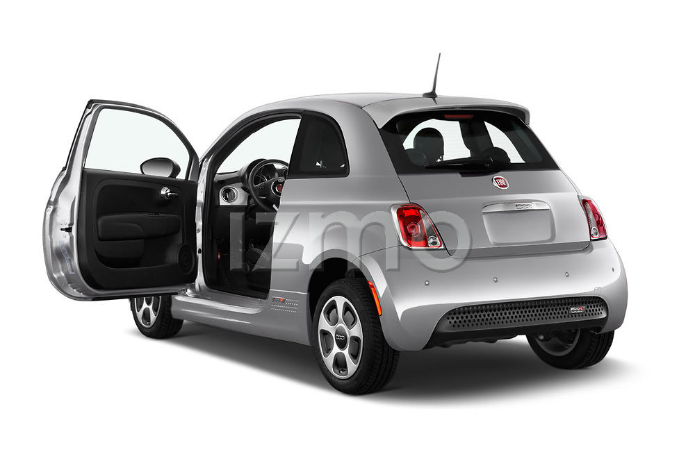 Car images of 2017 Fiat 500e Battery-Electric 5 Door Hatchback Doors