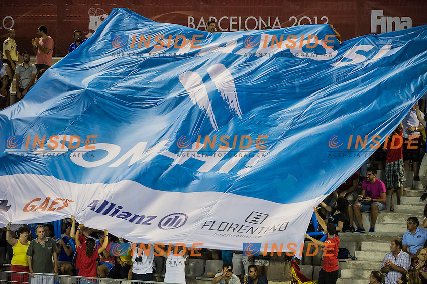 Spain ESP - Hungary HUN<br /> 15 FINA World Aquatics Championships<br /> Day-12 Waterpolo Women<br /> Barcelona 19 July - 4 August 2013<br /> Photo G.Barbagelata/Insidefoto/Deepbluemedia.eu