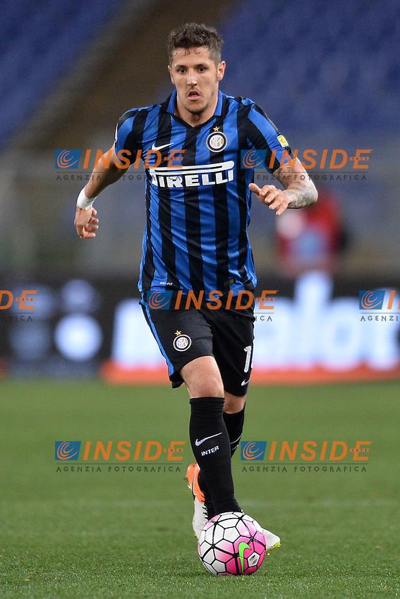 Stevan Jovetic Inter.<br /> Roma 1-05-2016  Stadio Olimpico<br /> Campionato Serie A,<br /> Lazio - Inter.<br /> Foto Antonietta Baldassarre / Insidefoto