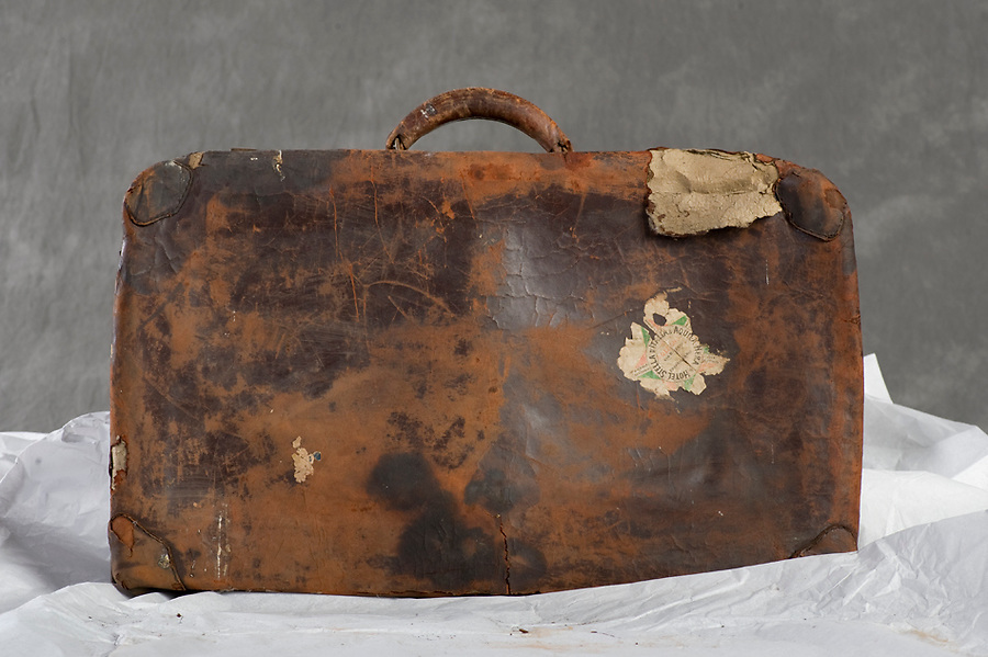 Willard Suitcases / Delmar H.<br /> &copy;2013 Jon Crispin<br /> ALL RIGHTS RESERVED