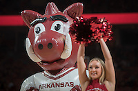 NWA Democrat-Gazette/ANTHONY REYES @NWATONYR<br /> Arkansas against Florida Thursday Dec. 29, 2016 at Bud Walton Arena in Fayetteville.