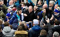 Leeds United's Francisco Casilla arrives at the ground<br /> <br /> Photographer Chris Vaughan/CameraSport<br /> <br /> The EFL Sky Bet Championship - Leeds United v Sheffield Wednesday - Saturday 11th January 2020 - Elland Road - Leeds<br /> <br /> World Copyright © 2020 CameraSport. All rights reserved. 43 Linden Ave. Countesthorpe. Leicester. England. LE8 5PG - Tel: +44 (0) 116 277 4147 - admin@camerasport.com - www.camerasport.com