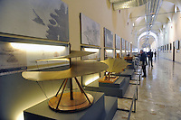 - Milano, Museo nazionale della Scienza e della Tecnica; ricostruzione di progetti leonardeschi<br />