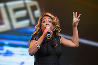 Snap! performing during Rewind South, The 80s Festival, at Temple Island Meadows, Henley-on-Thames, England on 20 August 2016. Photo by David Horn.