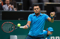 12-02-14, Netherlands,Rotterdam,Ahoy, ABNAMROWTT,Jo-Wilfried Tsonga(FRA)<br /> Photo:Tennisimages/Henk Koster
