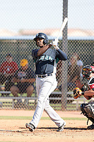 Johermyn Chavez, Seattle Mariners 2010 minor league spring training..Photo by:  Bill Mitchell/Four Seam Images.