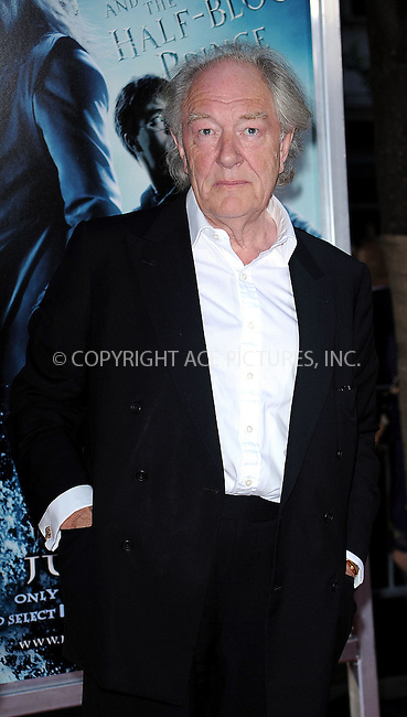 WWW.ACEPIXS.COM . . . . .  ....July 9 2009, New York City....Michael Gambon at the New York premiere of 'Harry Potter and the Half-Blood Prince' at Ziegfeld Theatre on July 9, 2009 in New York City....Please byline: KRISTIN CALLAHAN - ACE PICTURES.... *** ***..Ace Pictures, Inc:  ..tel: (212) 243 8787 or (646) 769 0430..e-mail: info@acepixs.com..web: http://www.acepixs.com
