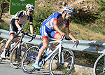 Thibaut Pinot (FRA) Groupama-FDJ climbs Sierra de la Alfaguara during Stage 4 of the La Vuelta 2018, running 162km from Velez-Malaga to Alfacar, Sierra de la Alfaguara, Andalucia, Spain. 28th August 2018.<br /> Picture: Colin Flockton | Cyclefile<br /> <br /> <br /> All photos usage must carry mandatory copyright credit (&copy; Cyclefile | Colin Flockton)