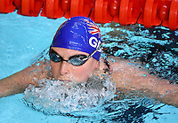 PICTURE BY VAUGHN RIDLEY/SWPIX.COM - Swimming - British International Disability Swimming Championships 2012 - Ponds Forge, Sheffield, England - 08/04/12 - Stephanie Millward competes in the Women's MC 400m Freestyle Heats.