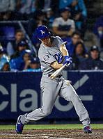 Walker Buehler de los dodgers, durante el partido de beisbol de los Dodgers de Los Angeles contra Padres de San Diego, durante el primer juego de la serie las Ligas Mayores del Beisbol en Monterrey, Mexico el 4 de Mayo 2018.<br /> (Photo: Luis Gutierrez)