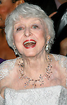Celeste Holm arriving to the 61st Annual Tony Awards held at Radio City Music Hall New York City on June 10, 2007.
