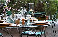 Marseillan. Languedoc. France. Europe. Wine glass.