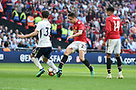 Ander Herrera of Manchester United scores his goal to make it 2-1 during the FA cup semi-final match at Wembley Stadium, London. Picture date 21st April, 2018. Picture credit should read: Robin Parker/Sportimage