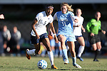 02 December 2012: Penn State's Maya Hayes (5) and UNC's Kelly McFarlane (11). The University of North Carolina Tar Heels played the Penn State University Nittany Lions at Torero Stadium in San Diego, California in the 2012 NCAA Division I Women's Soccer College Cup championship game. UNC won the game 4-1.