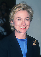 Hillary Clinton<br /> 1999<br /> Photo By John Barrett/CelebrityArchaeology.com