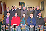 The Kerry Beagle Association held its AGM at the Ring of Kerry Hotel on Saturday night last pictured here front l-r; Niall Lyons, John Cronin(President), Anthony O'Sullivan, Conor O'Leary)PRO), Joseph O'Driscoll, back l-r; Mossie Brennan, Ciaran Smith, Patrick Dillon, Declan O'Driscoll, Muirish Brennan, David Lyons, Dan O'Connor, Joseph Harty, David O'Shea & Dan McCarthy.  Follow their upcoming events on kerrybeagle.blogspot.com