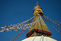 Bouddhanath, Kathmandu - The largest stupa in Nepal the area is also known as little Tibet